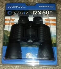 NEW BARSKA COLORADO SERIES 12X50 MM BINOCULARS WIDE FIELD OF VIEW WIDE ANGLE