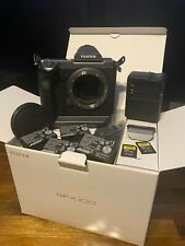 FUJIFILM GFX 100 102MP Digital SLR Camera - with Extra Batteries and SD Cards