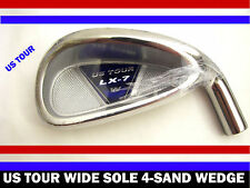 Irons Set Heads Only  4-PW+SW OVERSIZE US TOUR Stainless LX-7 WIDE SOLE .370 PT