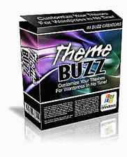 THEME BUZZ WORDPRESS EDITOR für 32-Bit-PCs Templates Generator Software E-LIZENZ