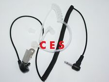 Listen Only Acoustic Air Tube Earpiece For Radio MIC Speaker With 2.5mm Jack