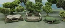 28MM EASTERN FRONT/MANNERHEIM LINE BUNKER SET - PAINTED TO COLLECTOR'S STANDARD