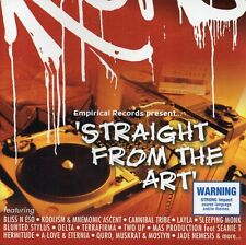 STRAIGHT FROM THE ART CD 18 TRACKS 2003 AUS HIP HOP UNDERGROUND VARIOUS ARTISTS