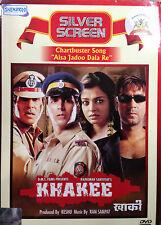 Khakee - Amitabh Bachchan, Aishwarya Rai, Ajay Devgn, Akshay - Hindi Movie DVD