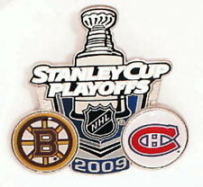 2009 NHL PLAYOFFS PIN BOSTON BRUINS MONTREAL CANADIENS