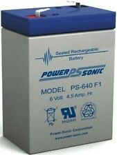 Rechargeable Battery 6 Volt Torch Battery SLA 4.5AH 6V 4.0