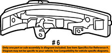 FORD OEM Edge Door Side Rear View Mirror-Turn Signal Lens Right FT4Z13B375A