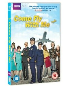 Come Fly With Me DVD - New Sealed - BBC - 2011 - Matt Lucas/David Walliams