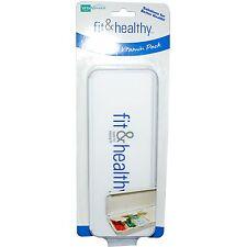 Seven Day Vitamin Organiser Container Dispenser Storage Box (Fit & Healthy)