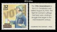 US #3184e MNH 1920 Women Vote Suffrage