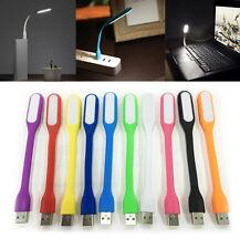 TheQ flexibel USB 6 LED Lampe Laptop Powerbank 1,2W Licht Leuchte in 10 Farben