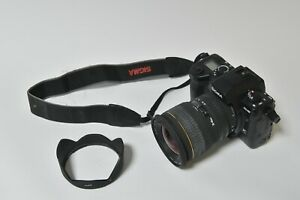 sigma sd 10 camera body & 20 to 40 zoom lens