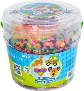 8500 Pcs Perler Fun Fusion Fuse Bucket-Bead Mania Kids Art & Craft DIY Project