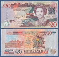 EAST CARIBBEAN STATES 20 Dollars (2008) UNC P.49