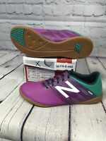 New Balance Furon Dispatch IN Soccer, Deep Orchid/Serene Green/Imperial, SIZE 7