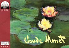 Kunst Postkartenbuch  Claude Monet —  30 Kunstpostkarten NEU!