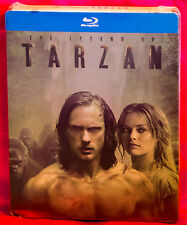 Legend of Tarzan Blu-Ray Limited Edition Steelbook Region Free
