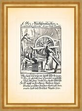 Der Büchsenmacher Ballistik Jagdwaffen Kupferstich Christoph Weigel Berufe 031