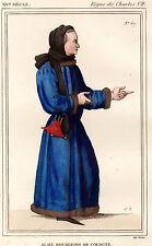 COSTUME DE LA FRANCE XVe siècle / Alain, Bourgeois de Cologne