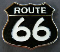 BELT BUCKLE BUCKLES OLD ROUTE RT 66  AMERICAN USA HIGHWAYS BOUCLE DE CEINTURE