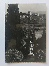 Avignon France B&W Postcard c1938 The Popes Palace from the Abbey of Saint Andre