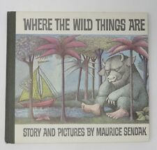 WHERE THE WILD THINGS ARE by Maurice Sendak Early Edition 1963 Vintage HB