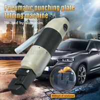 Air Punch Flange Tool Pneumatic Puncher Crimper Hole Plier Punching Flanging Kit