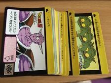 Carte Dragon Ball Z DBZ Carddass Hondan Part 7 #Reg Set 1991 MADE IN JAPAN