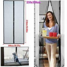 DE Magnet Fliegengitter Magnete Fliegen Vorhang für Tür Balkon Terrasse Netz NEU