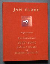 JAN FABRE 1977-2005 BOITES A IMAGES & MODELES DE PENSEE VISION 2006 RARE
