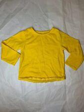 Garanimals Baby Girl Dyed Yellow Long-sleeve Shirt 18 Months