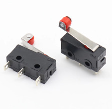 5pcs Mini Micro Switch 3Pin With Roller Limit Switch