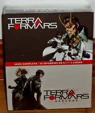 TERRAFORMARS+TERRAFORMARS REVENGE SERIE COMPLETA 6 BLU-RAY+2 LIBROS NUEVO R2