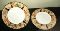 """(3) Christopher Stuart VILLA D'ESTE 8 1/2"""" Salad Plates"""
