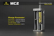 Xtar MC2 Caricabatterie batterie al litio 18650 26650 18350 14500 Smart charger