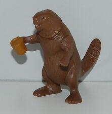 "2005 Mr Beaver 3"" Action Figure #4 McDonald's Disney Lion Witch Wardrobe Narnia"