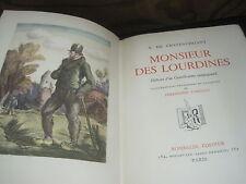 Alphonse de CHATEAUBRIANT: Monsieur des Lourdines illustré par Fargeot/relié
