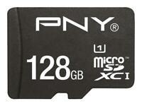 Genuine PNY Elite 128GB MicroSD SDXC Card 80MB/s V10 with SD adapter, UK Seller