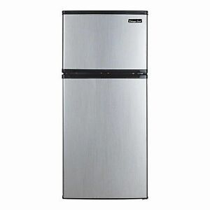 Magic Chef 4.3 Cu-Ft. Mini Refrigerator in Stainless Steel