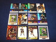 BOSTON BRUINS PREMIUM COLLECTION OF 42 CARDS TOTAL BOOK VALUE $217.00 (K217-7)