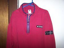 Columbia Sportswear Men's 100%  Cotton  1/4 Zip Jacket Pullover  SIZE Large