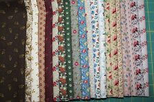 "20 ""1800's CIVL WAR  REPRODUCTION"" QUILT FABRIC FAT QUARTER BY MARCUS FABRICS"