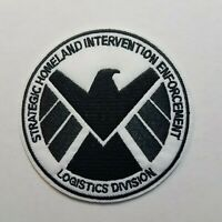 Agents of Shield Costume/Cosplay White Patch  3 1/2 inches