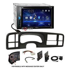 Pioneer 2018 DVD Bluetooth Stereo 2Din Dash Kit Harness for 99-02 GM Trucks SUV