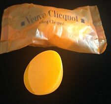 VEUVE CLICQUOT CHAMPAGNE SIPPER FOR MINI BOTTLE  SEALED IN BAG X 1 NEW
