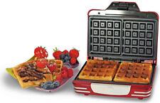 Piastra Waffle Antiaderente Ariete 187 Waffle Maker