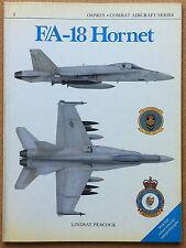 Peacock - F/A-18 Hornet - Osprey Combat Aircraft Series n°2 1986 - Aviazione