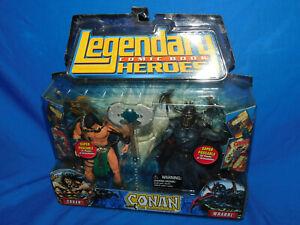 Toybiz Legendary Comic Book Heroes Featuring Conan and Wrarrl