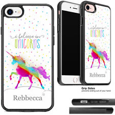 Personalised Rainbow Unicorn Phone Case For Apple iPhone and Samsung