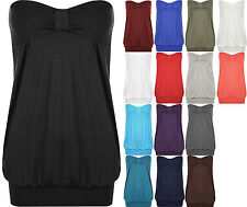 Bandeau Stretch Casual Other Women's Tops
